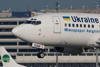 UR-GAW @ VIE - Boeing 737-5Y0