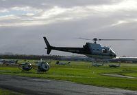 VH-EFT @ YMMB - Eurocopter Squirrel VH-EFT
