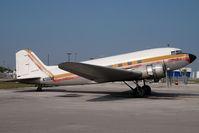 N705GB @ KOPF - Atlantic Air Cargo Douglas DC3