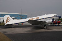 HB-IRJ @ KOPF - Breitling DC3