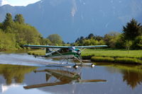 C-FIGF - Taxiing to dock in Knights Inlet - by Warren  Roberts