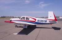 N1351W @ CCR - Visitor - by Bill Larkins