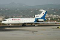 RA-85836 @ LEPA - Rossiya Tu154 taxiing to the stand at LEPA