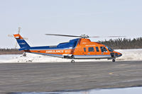 C-GIMY @ CYMO - Air Ambulance about to depart from Moosonee, Ontario - by Paul Lantz
