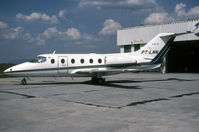 PT-LNN @ SBCT - SBCT W/O 23rd Mar 2003 at Santos AFB after aqua-planing on landing and overunning into a canal