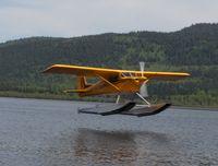 C-GYZV - Landing Tabor Lake - by John Hebb