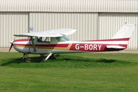 G-BORY @ EGCL - Based Cessna at Fenland