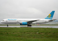 OH-AFK @ LFBO - Taxiing to the terminal... Flight for Air Mediterranee... - by Shunn311