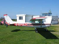 G-BPBJ @ EGCL - Cessna 152 based at Fenland - by Simon Palmer