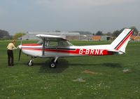 G-BRND @ EGNF - Based aircraft - by keith sowter
