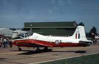 XW419 @ MHZ - Jet Provost T.5A of 7 Flying Training School displayed at the 1982 RAF Mildenhall Air Fete. - by Peter Nicholson