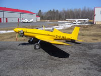 C-FJXQ - april 2009, with bigger tires. 80 flight hours done. - by Luc thibault (builder / owner)