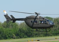 07-72035 @ DTN - UH-72A Lakota (EC-145) lifting off from the Shreveport Downtown airport. - by paulp