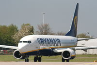 EI-DCH @ EGCC - Ryanair - by Chris Hall