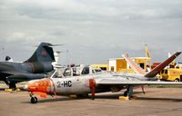 220 @ MHZ - French Air Force Magister of EC.2 at the 1980 RAF Mildenhall Air Fete. - by Peter Nicholson