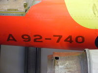 A92-740 @ EGCK - GAF Jindivik 3 at Caernarfon Airworld - by Chris Hall
