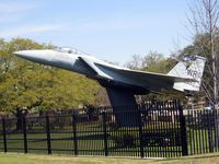 73-0099 @ WRB - Gate Guard at Robins AFB - by Timothy Aanerud