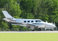 N440CP @ DTN - Starting to roll for take off on 14 at the Shreveport Downtown airport. - by paulp