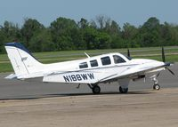N188WW @ DTN - Parked at the Shreveport Downtown airport. - by paulp