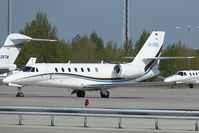 D-CHIL @ LOWW - Cessna 680 - by Andy Graf-VAP