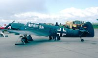 D-ESBH @ EDDB - Messerschmitt Bf 108B-2 Taifun of the Messerschmitt Foundation at the ILA 1998, Berlin