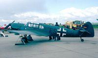 D-ESBH @ EDDB - Messerschmitt Bf 108B-2 Taifun of the Messerschmitt Foundation at the ILA 1998, Berlin