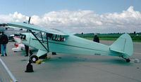 N35021 @ EDDB - Piper J5A Cub Cruiser at the ILA 1998, Berlin