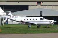 OY-GSA @ EGNX - PC12 at East Midlands