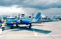 D-GELB @ EDDB - PZL Mielec M20 (polish version of the Piper PA-34-200T Seneca II) at the ILA 1998, Berlin