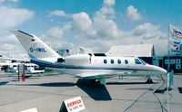 D-IWIL @ EDDB - Cessna 525 Citation Jet at the ILA 1998, Berlin