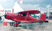 N69H @ EDDB - Beechcraft D17S Staggerwing at the ILA 1998, Berlin