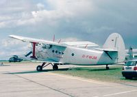 D-FWJM @ EDDB - Antonov An-2T COLT at the ILA 1998, Berlin