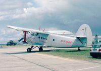 D-FWJM @ EDDB - Antonov An-2T COLT at the ILA 1998, Berlin