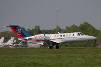 OE-GRZ @ VIE - Cessna 525B CitationJet CJ3