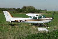 G-GRAY @ EGBN - Now de-registered - this airframe sits at Nottingham Tollerton