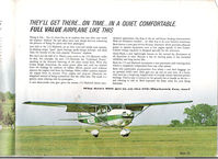 N1399F - From 1967 Cessna Sales Brochure. - by Ed Wells