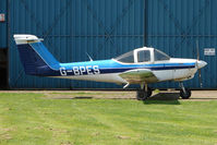 G-BPES @ EGBN - Piper Tomahawk of the local Flying School at Tollerton