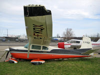 C-FKQX @ CYRO - F0 Tornado roared thru CYRO damaging this aircraft beyond repair - by CdnAvSpotter
