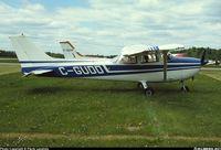 C-GUDD @ CYHU - Cessna 172m C-GUDD avant sa peinture 04/2009 - by Par Luc Monette avec Mon fils Marc Antoine