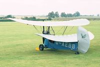 G-AEBB - Mignet HM.14 Pou-du-Ciel of the Shuttleworth Collection at the 1998 Shuttleworth Pageant