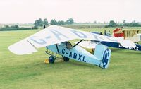 G-ABXL - Granger Archeopterix of the Shuttleworth Collection at the 1998 Shuttleworth Pageant