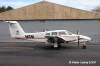 ZK-MBM @ NZAR - Massey University, Palmerston North - by Peter Lewis