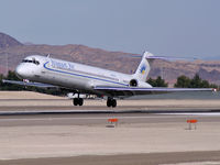 N862GA @ KLAS - Allegiant Air / 1987 McDonnell Douglas DC-9-83(MD-83)