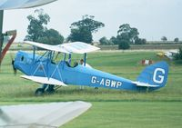 G-ABWP - Spartan Arrow at the 1998 Shuttleworth Pageant