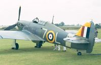 G-BKTH - Hawker Sea Hurricane IB of the Shuttleworth Collection at the 1998 Shuttleworth Pageant