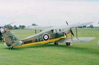 G-ADND - DeHavilland D.H.87B Hornet Moth of the Shuttleworth Collection at the 1998 Shuttleworth Pageant