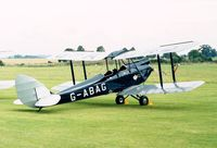 G-ABAG - DeHavilland D.H.60G Gipsy Moth of the Shuttleworth Collection at the 1998 Shuttleworth Pageant
