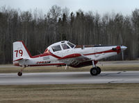 C-FXVL @ CYZH - Taking off from Slave Lake Air Tanker Base - by William Heather