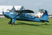 G-EITE @ EGBK - 1946 Luscombe 8F on the first day of the Luscombe and Cessna Historic Weekend Fly-in at Sywell UK
