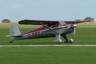 G-BRDJ @ EGBK - 1946 Luscombe 8F on the first day of the Luscombe and Cessna Historic Weekend Fly-in at Sywell UK